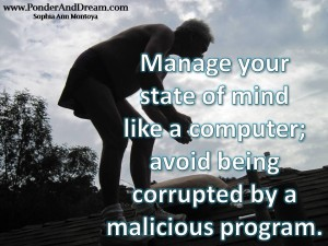 Manage Your State of Mind