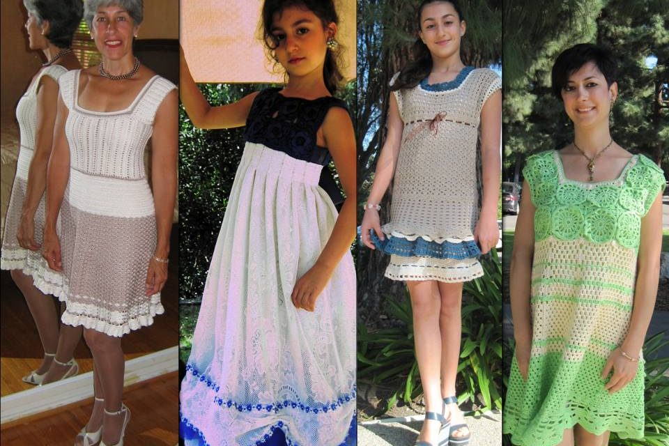 FASHION: How To Crochet An Original Dress