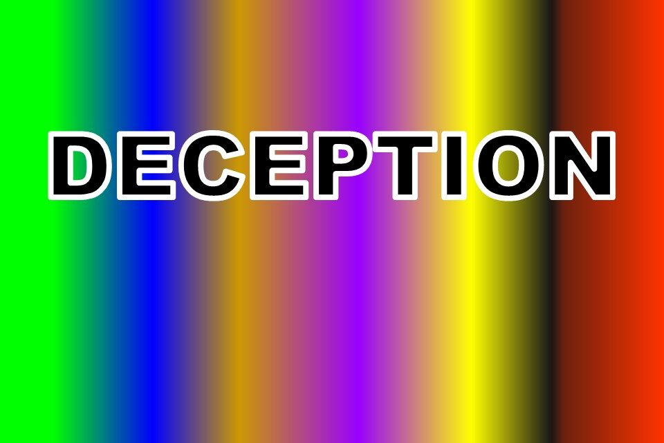 DECEPTION: AN EMOTION'S MOTION STORY
